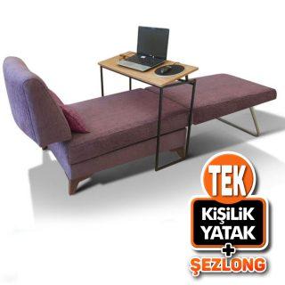 Serbil Şezlonglu, Yataklı Uzanma Koltuğu