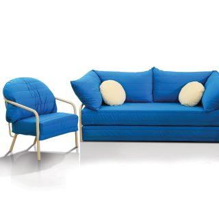 Sertino Yataklı Oturma Grubu (3+1+1)