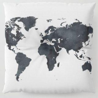 Yer Minderi - Dünya - Beyaz