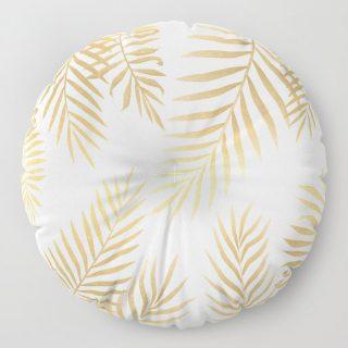 Yer Minderi - Gold Palmiye
