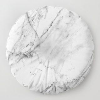 Yer Minderi - Beyaz Mermer