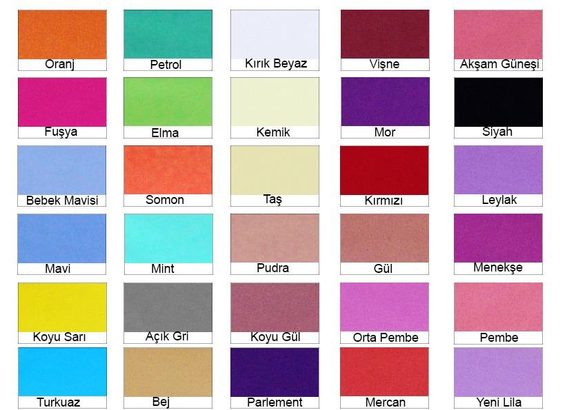 Renkli nevresim renkleri