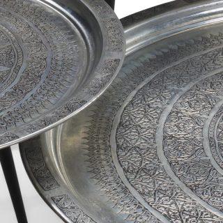 Deblanc Orta Sehpa 3'lü (Gümüş)